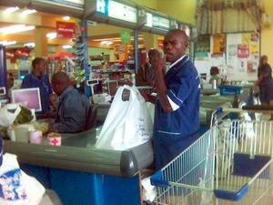 Supermarket in Nairobi