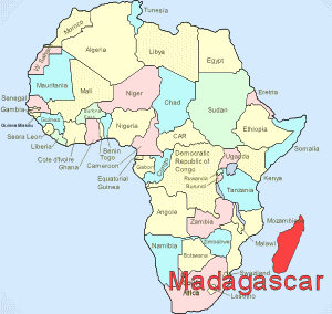 Madagascar Heart Language - Where is madagascar