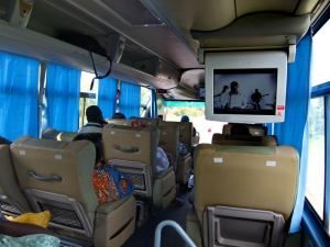 Inside STC bus