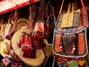 Traditional leather goods
