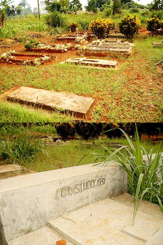 Ibambi graveyard and C.T. Studd's grave