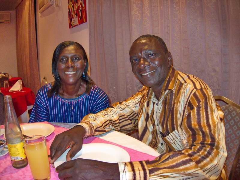 Naana and Sylverster Nkrumah