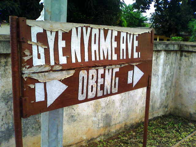 Gye Nyame sign
