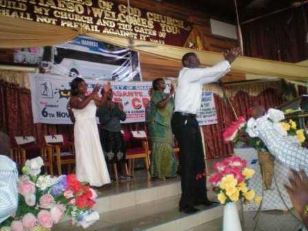 Leading deaf worship