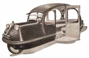 Prediction made in 1924 of cars in 1950