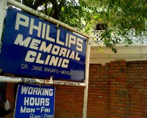 Sign - Philips Memorial Clinic
