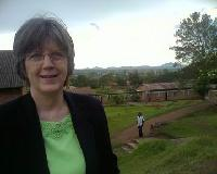 Dayle at the Shalom University of Bunia