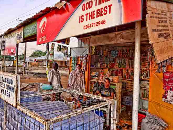 God's time is best grocery shop