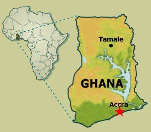 Ghana and Ghana in Africa