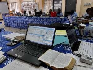 Bible Translators receiving specialized training in Tamale, Ghana