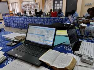 Bible Translators receiving specialized training in Tamale, Ghana