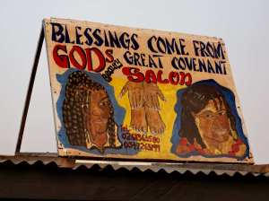 Blessings come from God's Great Covenant - Hair salon.