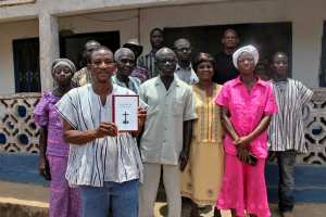 Translators and volunteers who shaped the transaltion of the New Testament in the Nawuri language of Ghana, assuring that it was both acurate and clear