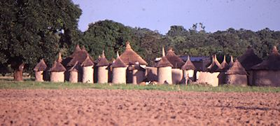 Village in Burkina Faso near Banfora