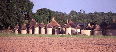 Village in Burkina Faso near Banfora