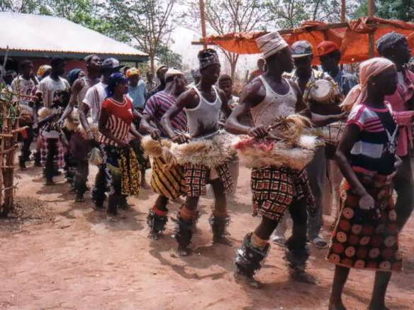 Bimoba traditional dance