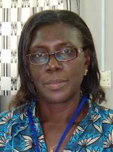 Naana Nkrumah, one of my Ghanaian colleagues