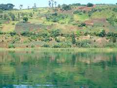 Lake Kivu near Bukavu