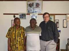 Michael Serchie, Gilbert Ansre and Ed
