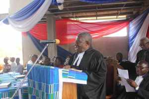 Prof Ansre speaking