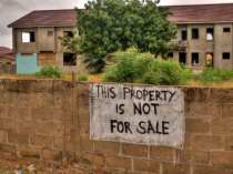Sign - The Property Is NOT for Sale