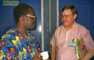 Ed in Cameroon with Daniel Ngwanou