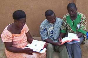 Fare fare people reading the Bible in their language