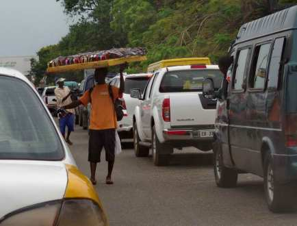 Taken on Ring Road between Osu and the Central Mosque, Accra