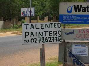 Sign - Talented painters