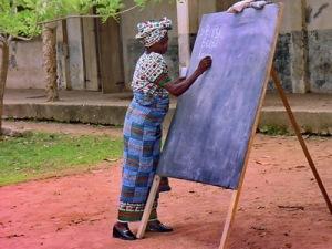 Rural literacy in Ghana