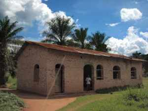 Church in Abone, Congo