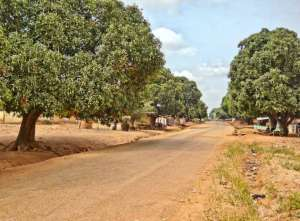 Town of Banda where the Chumburung Bible was translated