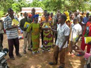 Recording a biblically sound song about AIDS in Congo