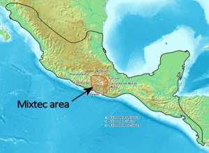 Mixtec map