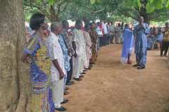 Dedication of translation committees for three languages in Ghana