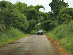 Road to Siwu country