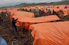 Camp for displaced people in eastern Congo, UN Photo/Endre Vestvik