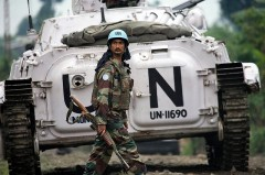 ONUC Peacekeeper in Congo Deploys to Combat Zone, UN Photo/Marie Frechon