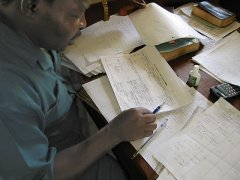 Strategic planning in Congo in 2003