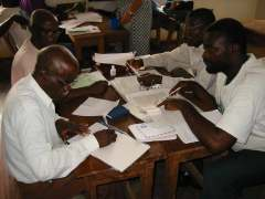 Planning for the komo language in Congo, 2003
