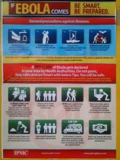 Ebola poster I saw in Ghana