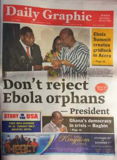 Ghanaian newspaper