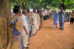 Dedication of representative translation committees for three Ghana languages, 2014