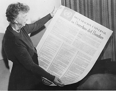 Eleanor Roosevelt and the UDHR
