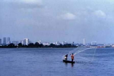 Fishermen near Abidjan