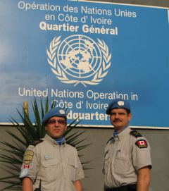 UN Peace Keepers in Côte d'Ivoire