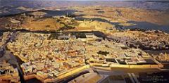 Jerusalem panorama, photo: Malkalior at English Wikipedia